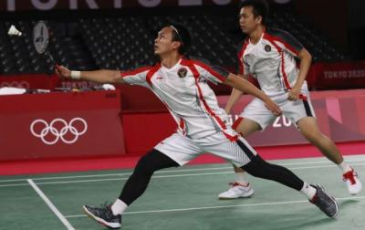 Hasil French Open 2021: Ahsan Hendra Mulus ke Babak 16 Besar Usai Bungkam Wakil Jepang