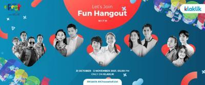 "Ingin Seru-Seruan Bareng Artis ""Ikatan Cinta""? Ikuti FUN Hangout Special MNC e-Fest dari Klaklik"