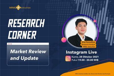 Perbarui Informasi Market Review di IG Live MNC Sekuritas Malam Ini Pukul 19.00!