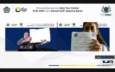 Dukung Peran Tax Center, STIE MNC Jalin Kerja Sama dengan Kanwil DJP Jakarta Barat