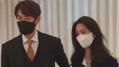 Yoo Yeon Seok Kepergok Kondangan Bareng Shin Hyun Bin