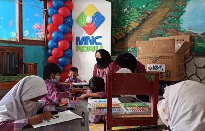 Bangun Generasi Cerdas, MNC Peduli Bagikan Peralatan Membaca untuk PAUD di Sukabumi