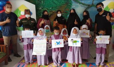 MNC Peduli Bantu PAUD di Sukabumi, Pengelola: Bisa Jadi Semangat Anak Belajar Tatap Muka
