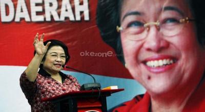 Megawati: Tak Ada Aturan PDIP Tak Boleh Menang Terus!