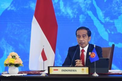 Jokowi: ASEAN-Rusia Harus Jadi Penyangga Stabilitas dan Perdamaian Kawasan