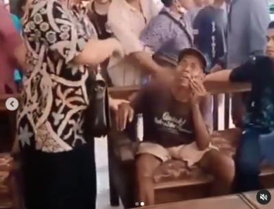 Viral Kakek Pemulung Dituduh Mencuri Dipukul Warga, Begini Kronologi Kejadiannya