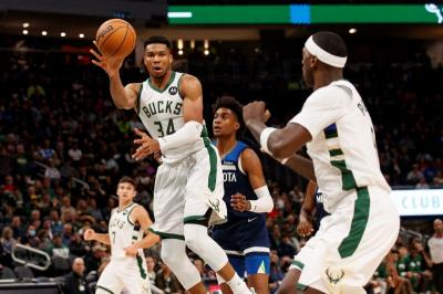 Giannis Antetokounmpo Ungkap Penyebab Milwaukee Bucks Bisa Kalah dari Timberwolves di NBA 2021-2022
