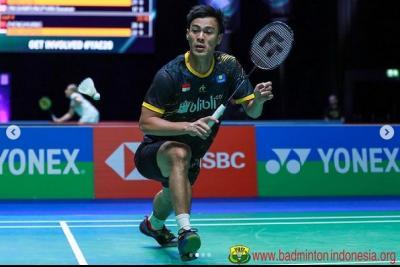 Perempatfinal French Open 2021: Shesar Hiren Rhustavito Permalukan Kento Momota demi Balaskan Dendam Jonatan Christie?