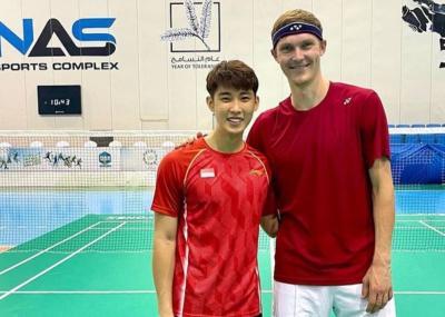 Berkat Viktor Axelsen, Tunggal Putra Singapura Ini Mampu Habisi Lee Zii Jia di French Open 2021
