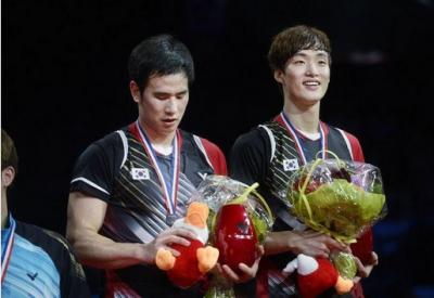Perempatfinal French Open 2021: Duel Juara Dunia, Mohammad Ahsan Hendra Setiawan vs Ko Sung-hyun Shin Baek-cheol