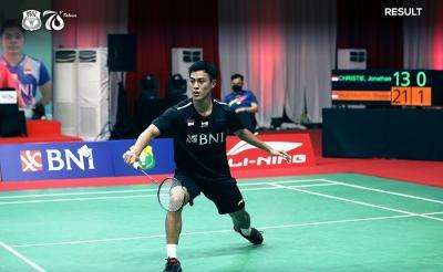 Hasil French Open 2021: Wakil India Cedera, Shesar Hiren Rhustavito Tunggu Kento Momota di Perempatfinal