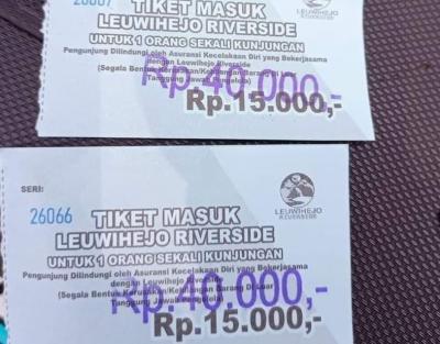 Heboh Masuk Wisata Leuwi Hejo Riverside Bogor Tarifnya Selangit, Netizen: Mau Naik Haji Abangnya!
