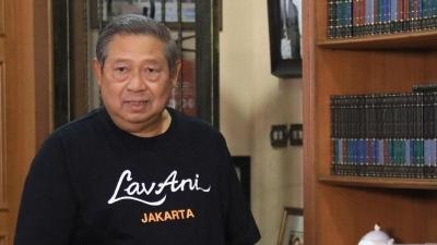SBY Respons Kata-Kata Indah Zarry Hendrik untuk Lukisan Senjanya yang Viral