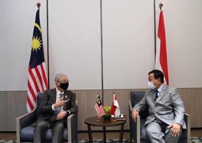 Bertemu PM Malaysia, Prabowo Bahas Kerjasama Pertahanan