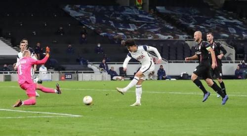 Tampil Trengginas Tottenham Gilas Lask Linz Tiga Gol Tanpa Balas Okezone Bola