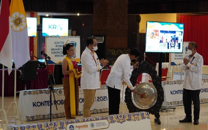 136 Tim Robot Ikuti Kontes Robot Indonesia Nasional 2021 di UGM