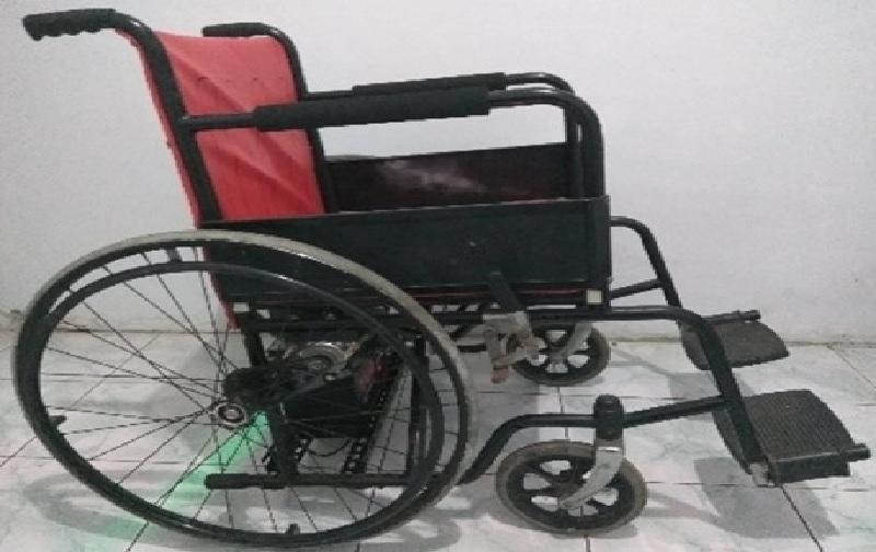 Pemuda Ini Ciptakan Kursi Roda Elektrik karena Jenuh di Rumah Akibat PPKM Darurat