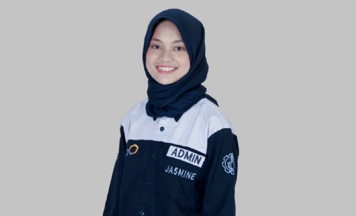 Kisah Jasmine, Wisudawan Termuda ITS Berusia 19 Tahun