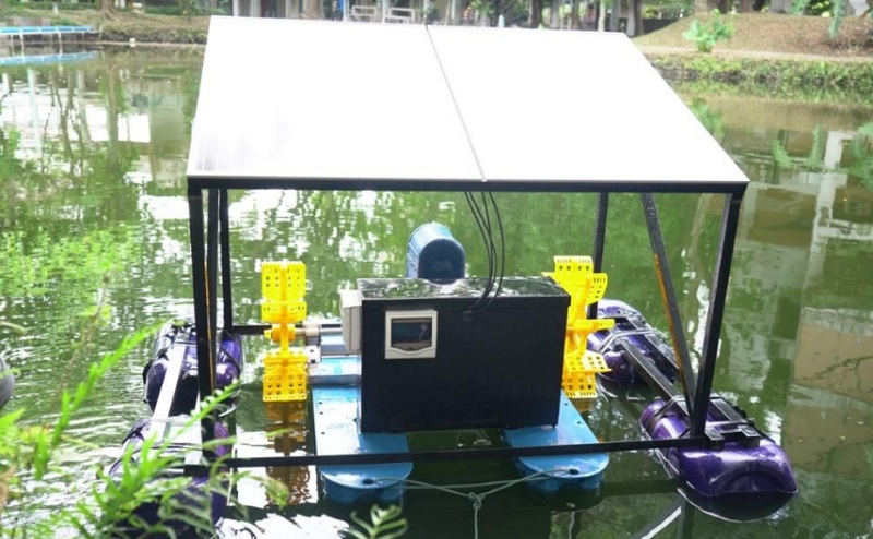 Dosen  Prodi  Teknologi Mesin Vokasi UMY  Ciptakan Aerator Tenaga Surya Berbasis IoT