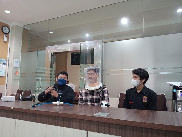 Dosen UNS Ciptakan Helmet CPAP Berbasis IoT untuk Pasien Covid-19