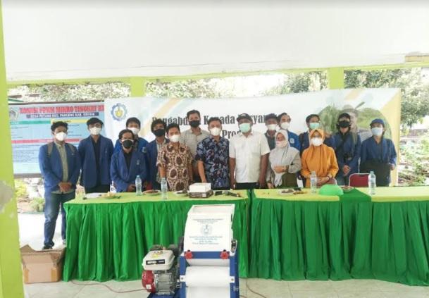 Keren! ITS Ciptakan Mesin Pemipil Jagung Otomatis untuk Petani