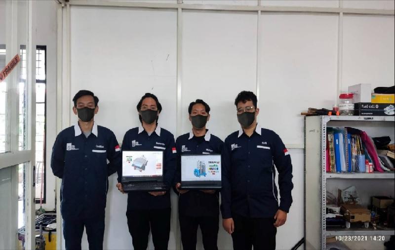 Hebat! Tim Spektronics ITS Sabet 2 Juara di Malaysia