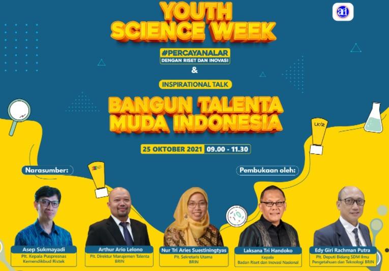 Youth Science Week, Inspirasi Pemuda Tularkan Semangat Penelitian dan Inovasi