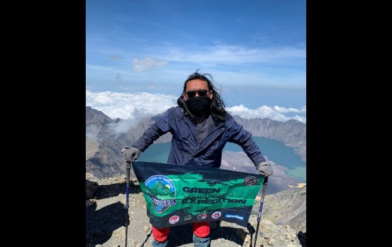 Mahasiswa Jakarta Mendaki 35 Gunung di Indonesia Demi 'Green Tourism'