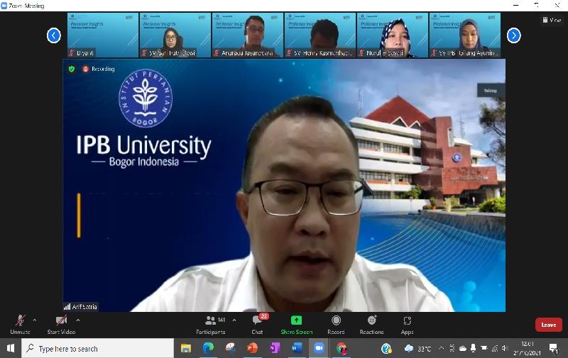 Rektor IPB University Paparkan Strategi Jadi Guru Besar dari Profesor Muda