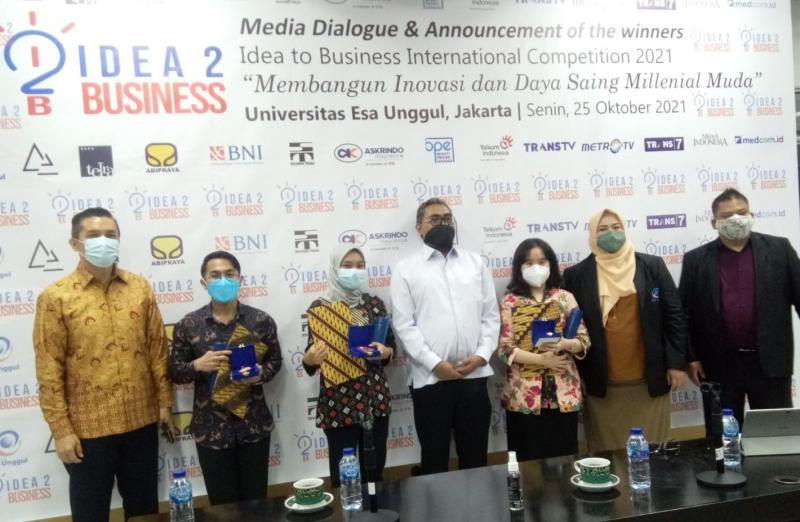 Mahasiswa Indonesia dan 11 Negara Lain Ditantang Adu Ide di Kompetisi Wirausaha Kelas Dunia