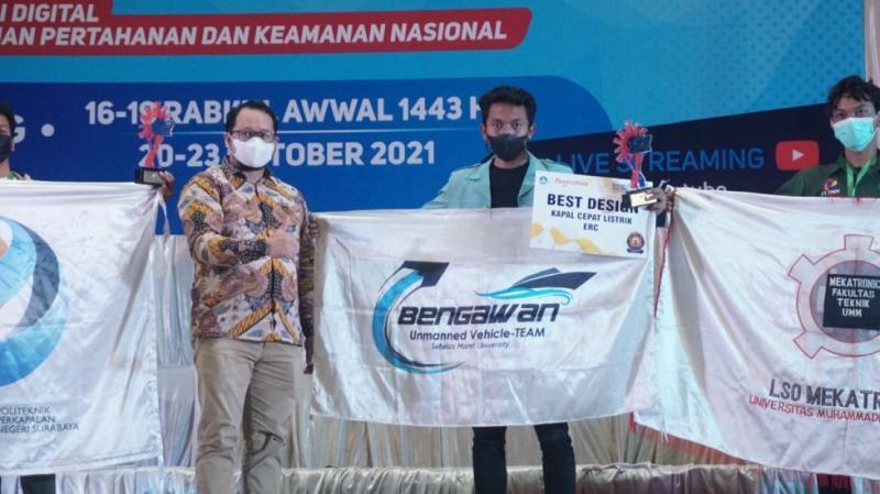 Bengawan UV UNS Sukses Borong Tiga Juara di KKCTBN 2021