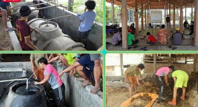 DEM UGM Kembangkan Desa Energi Berbasis Biomassa dan Energi Surya di Sleman